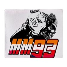 mm93bike3 Throw Blanket