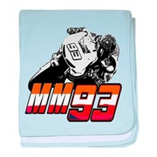 mm93bike3 baby blanket