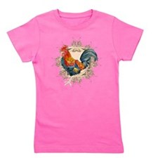 Vintage Rooster, French Advertising Lab Girl's Tee
