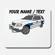 Police SUV Mousepad