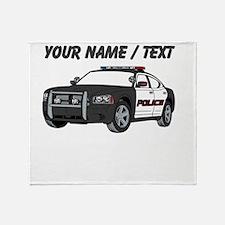 Police Cruiser Throw Blanket