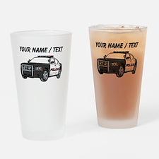 Police Cruiser Drinking Glass