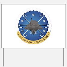 USS Dwight D Eisenhower CVN-69 Yard Sign