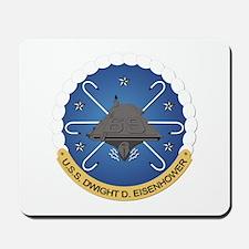 USS Dwight D Eisenhower CVN-69 Mousepad