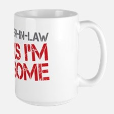 Mother-In-Law Awesome Large Mug