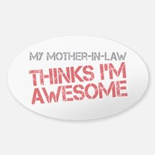 Mother-In-Law Awesome Decal