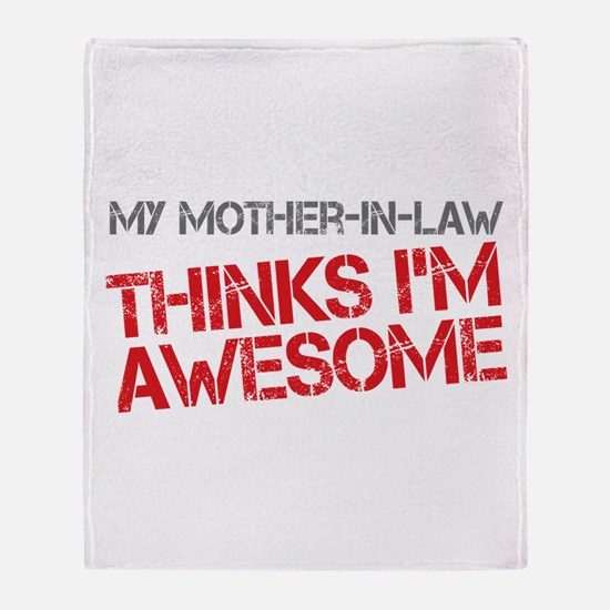 Mother-In-Law Awesome Throw Blanket