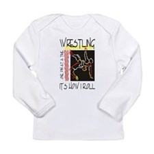 That's How I Roll Wrestling Long Sleeve T-Shirt