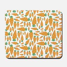 Carrots Vegan Veggie Lover Food Mousepad