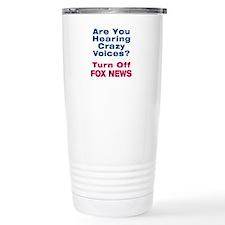 Turn Off Fox News Travel Mug