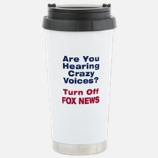 Turn Off Fox News Travel Mug