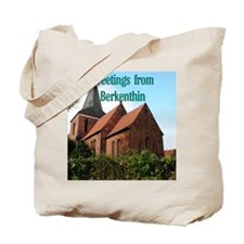 Church of Berkenthin Tote Bag