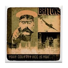britons Tile Coaster