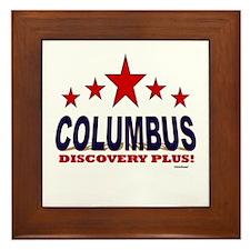 Columbus Discovery Plus Framed Tile