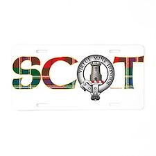 Maclean Clan Aluminum License Plate