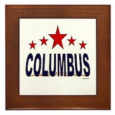 Columbus Framed Tile
