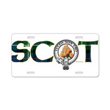 MacKenzie Clan Aluminum License Plate
