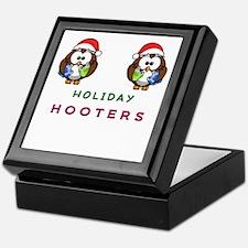 Holiday Hooters Keepsake Box
