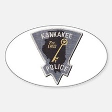 Kankakee Police Decal
