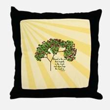 Jeremiah 17 7 Bible Verse Throw Pillow