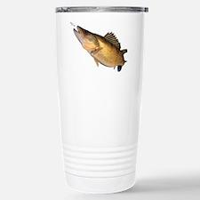 Walleye feeding Travel Mug
