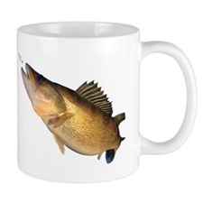 Walleye feeding Mugs