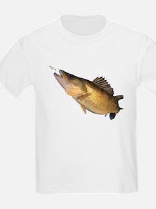 Walleye feeding T-Shirt