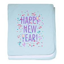 Happy New Year! baby blanket