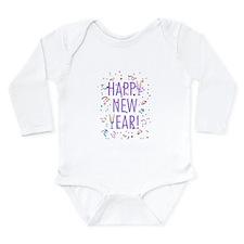 Happy New Year! Long Sleeve Infant Bodysuit