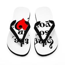 Music Lovers Quote Flip Flops