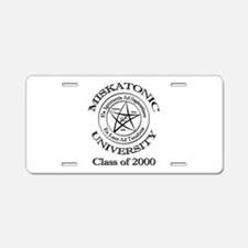 Class of 2000 Aluminum License Plate