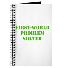 First-World Problem Solver Journal