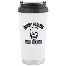 > Funny Rugby Players Never Grow Up Travel Mug