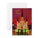 New orleans christmas Greeting Cards (20 Pack)