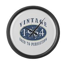 1964 Vintage (Blue) Large Wall Clock