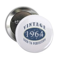 "1964 Vintage (Blue) 2.25"" Button"