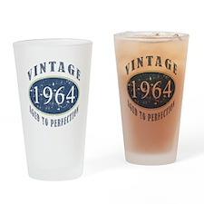 1964 Vintage (Blue) Drinking Glass