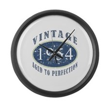 1954 Vintage (Blue) Large Wall Clock