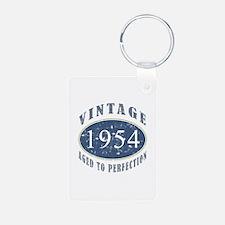 1954 Vintage (Blue) Keychains