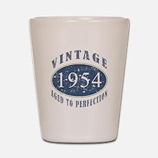 1954 Vintage (Blue) Shot Glass
