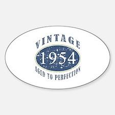 1954 Vintage (Blue) Decal