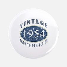 """1954 Vintage (Blue) 3.5"""" Button"""