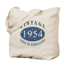1954 Vintage (Blue) Tote Bag