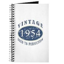 1954 Vintage (Blue) Journal
