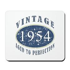 1954 Vintage (Blue) Mousepad