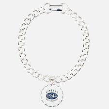 1944 Vintage (Blue) Charm Bracelet, One Charm
