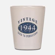 1944 Vintage (Blue) Shot Glass