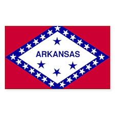 Arkansas flag Decal