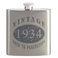 1934 Vintage (Blue) Flask