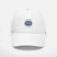 1934 Vintage (Blue) Baseball Baseball Cap